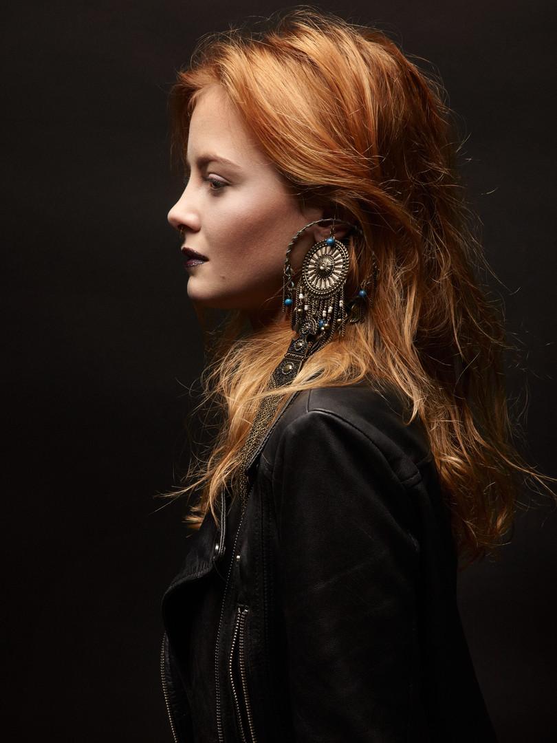 Photo Eric Ancel Model Margot katinka afanassieva MUAH & Stylism Johanna Monti