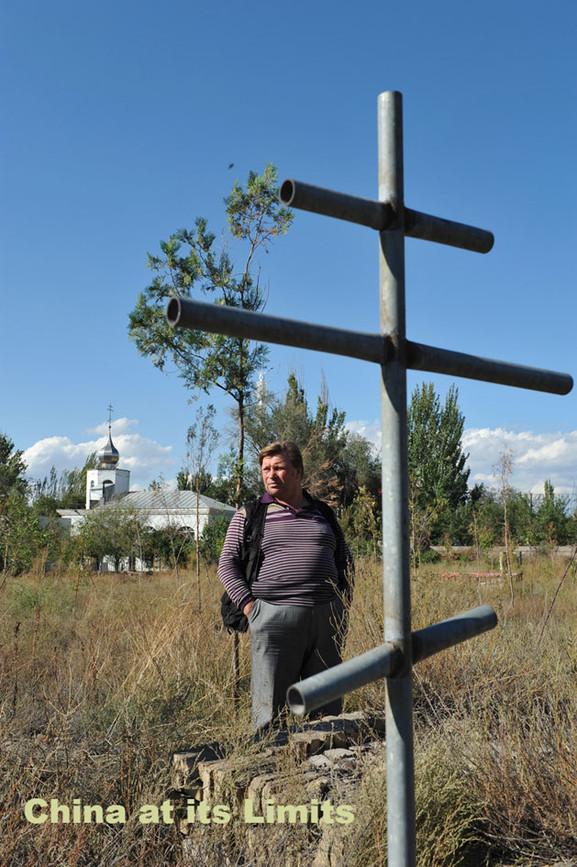 An ethnic Russian in Xinjiang