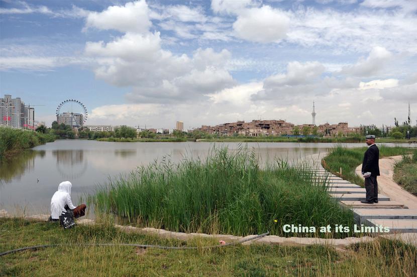 A fleeting moment in Kashgar