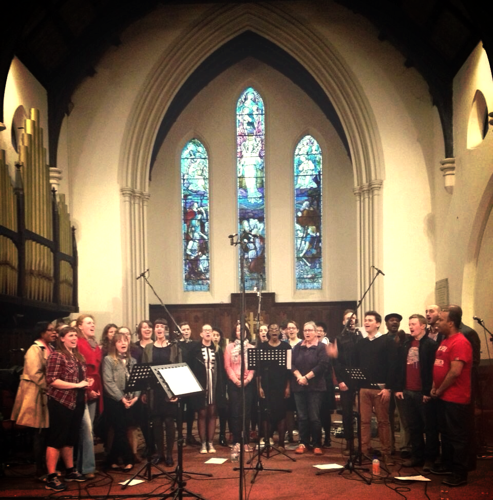 Gospel Choir Recording April 2015