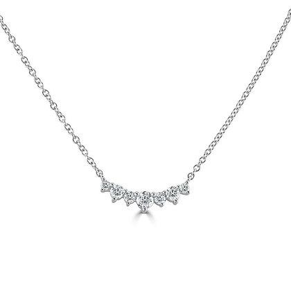 """""""Tiara"""" necklace with Diamonds"""