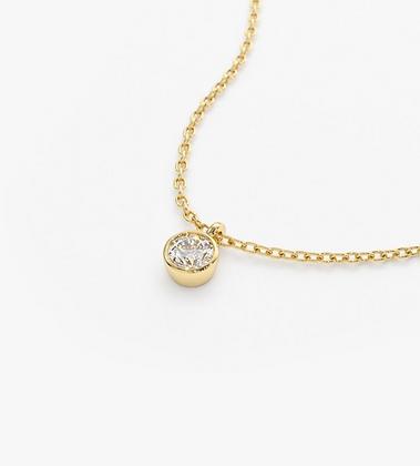 Small Diamond solitaire necklace/pendant
