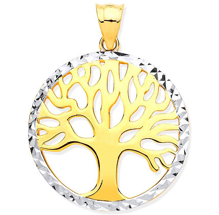 9k Gold Tree of Life pendant