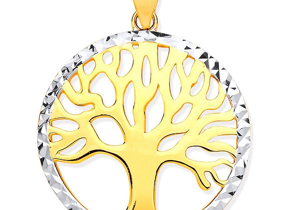 9k Gold Tree of Life pendant