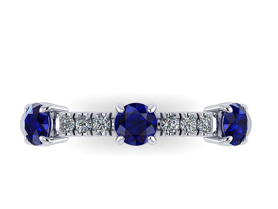 Sapphire and Diamond Gift ring