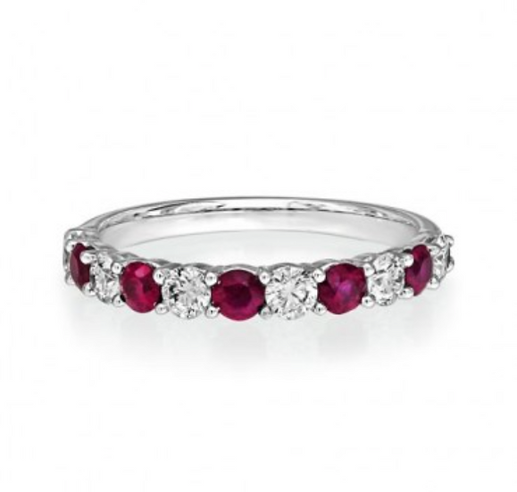 Ruby and Diamond Eternity