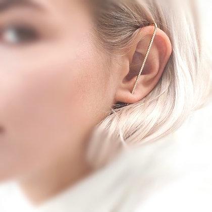 Diamond Thread  sleek earring