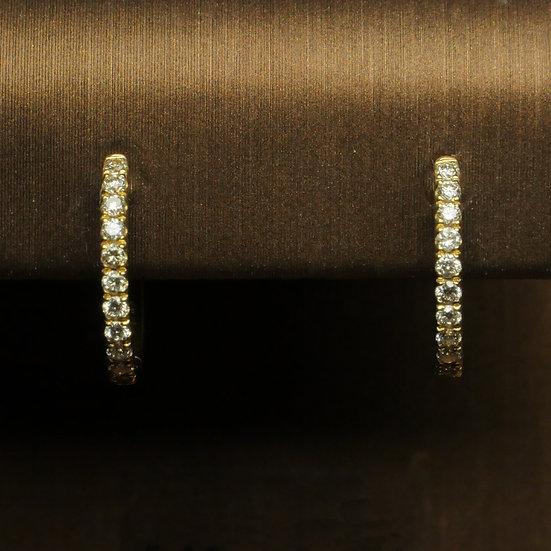 Microset Diamond Earrings