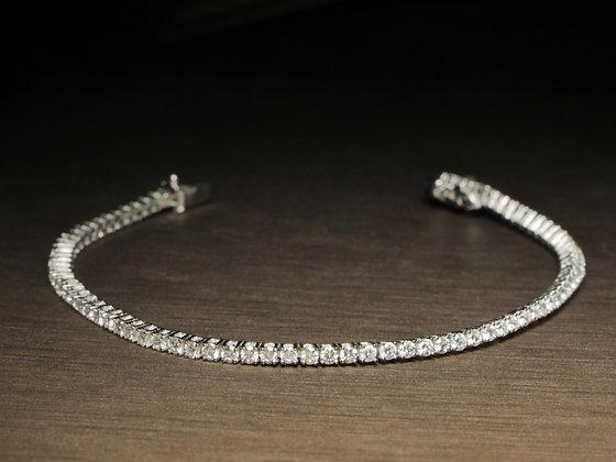 Petite Diamond Line Bracelet