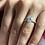 Thumbnail: 2carat Oval Diamond under halo ring, D colour Gia