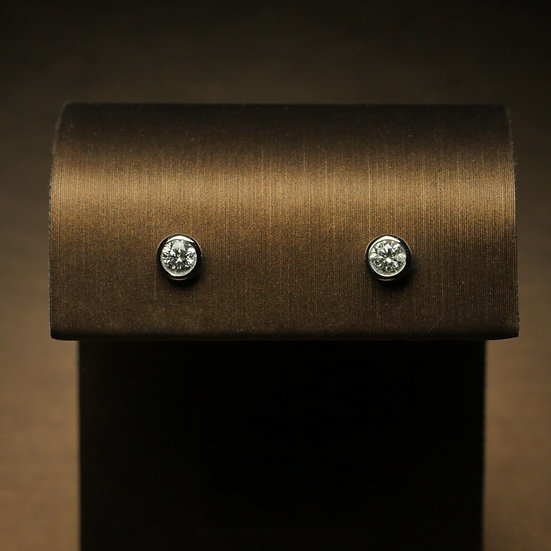 Rubover Diamond Earrings