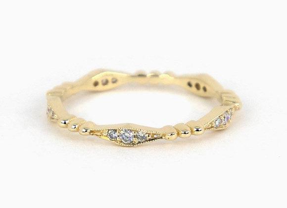 Diamond and bead full band