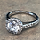 """Thumbnail: """"Aura"""" Halo Round Brilliant Engagement ring from £999"""