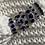 Thumbnail: Blue Sapphire 5-stone Eternity ring