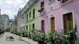 Rue Crémieux, a rua mais colorida de Paris!