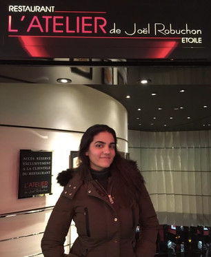 Restaurante L'Atelier, de Joël Robuchon