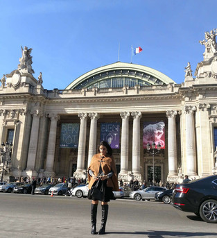Paris Fashion Week : Desfile Manish Arora no Grand Palais