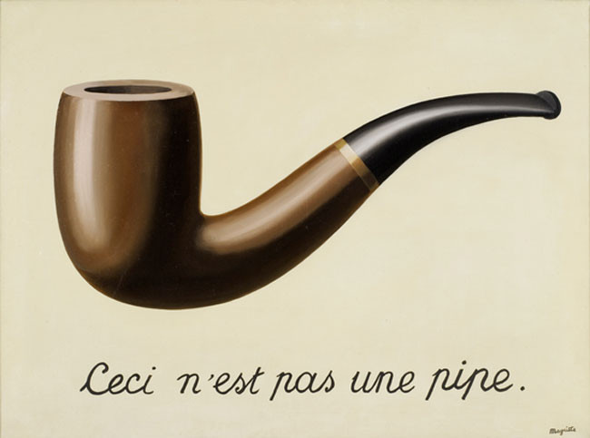 Magritte Pipe Pompidou