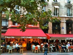 Café com uma Pitada de Filosofia em Paris