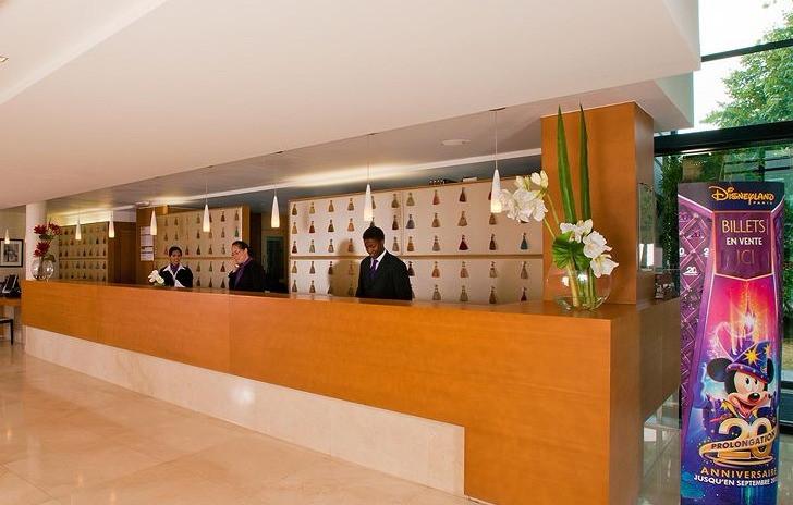 Recepção ResidHome Hotel