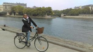 Um tour de bike por Paris!