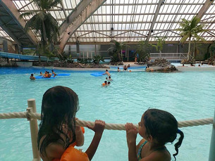 Aquaboulevard: parque aquático aquecido em Paris