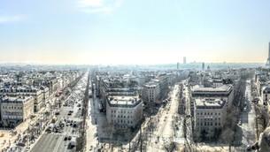 Subir ao topo do Arco do Triunfo em Paris
