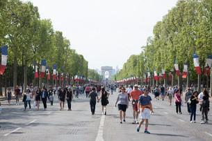 Champs Elysées Apenas para Pedestres