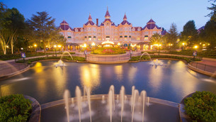 Disneyland Hotel : dentro do parque!