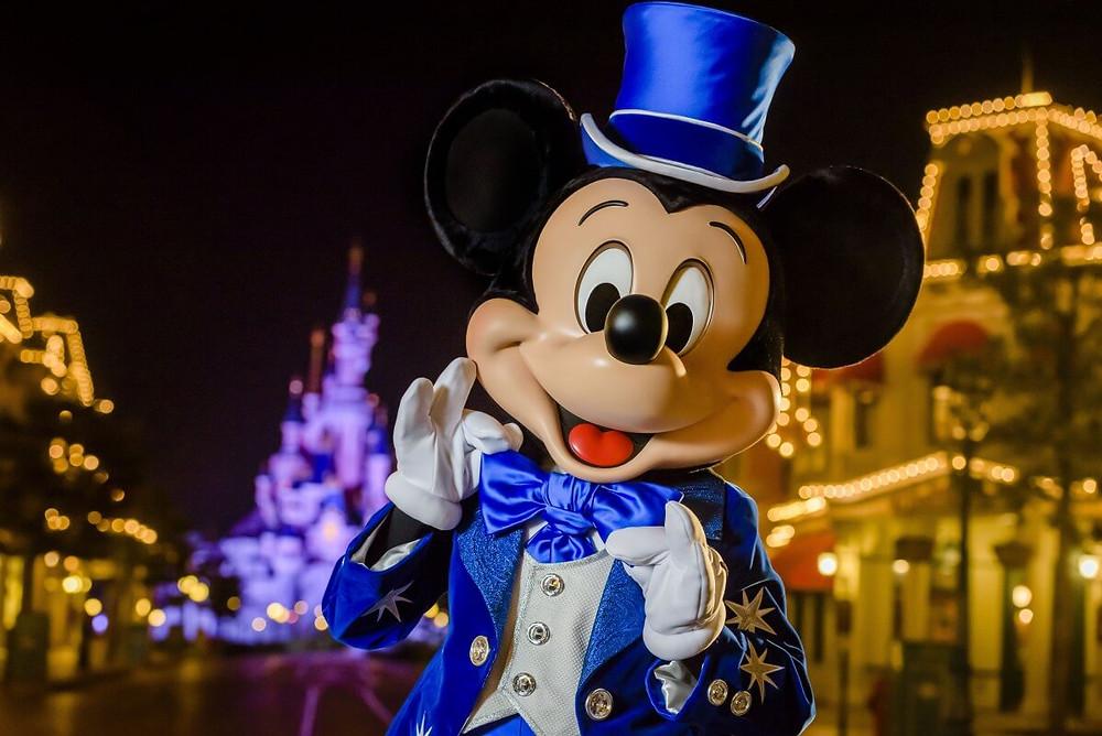 Mickey de Azul