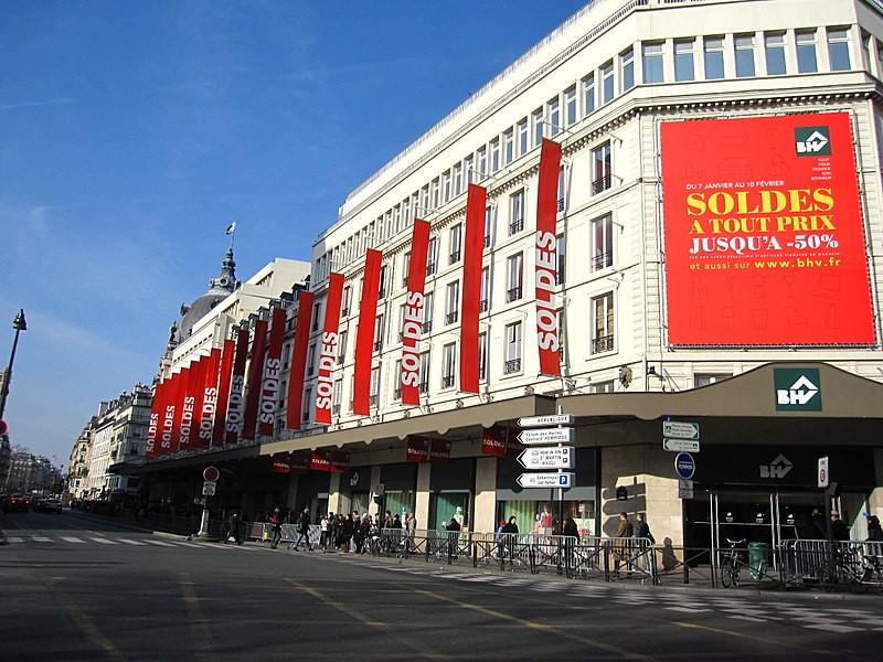 Liquidação em Paris