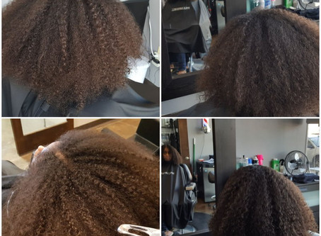 Another beautiful DevaCut and Transformation   Send a text to schedule a consultation!