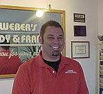 Eric Weber of Weber Body and Frame in Dayton Ohio