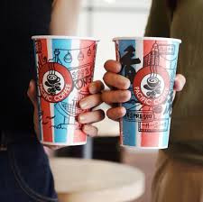 Pacific coffee彩繪杯大募集