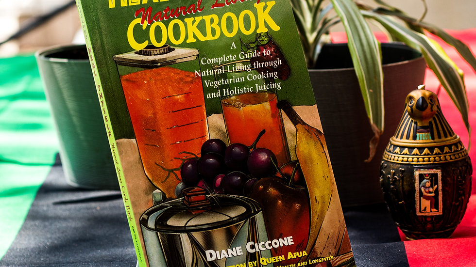 Heal Thyself: Natural Living Cookbook by  Diane Ciccone