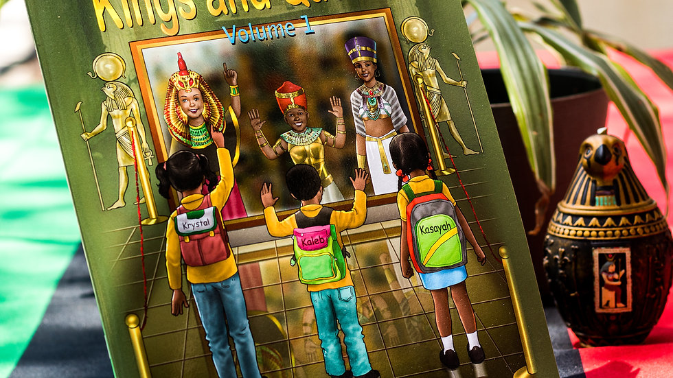 We Are Kings and Queens by Kareem Alexis (Children's Book)