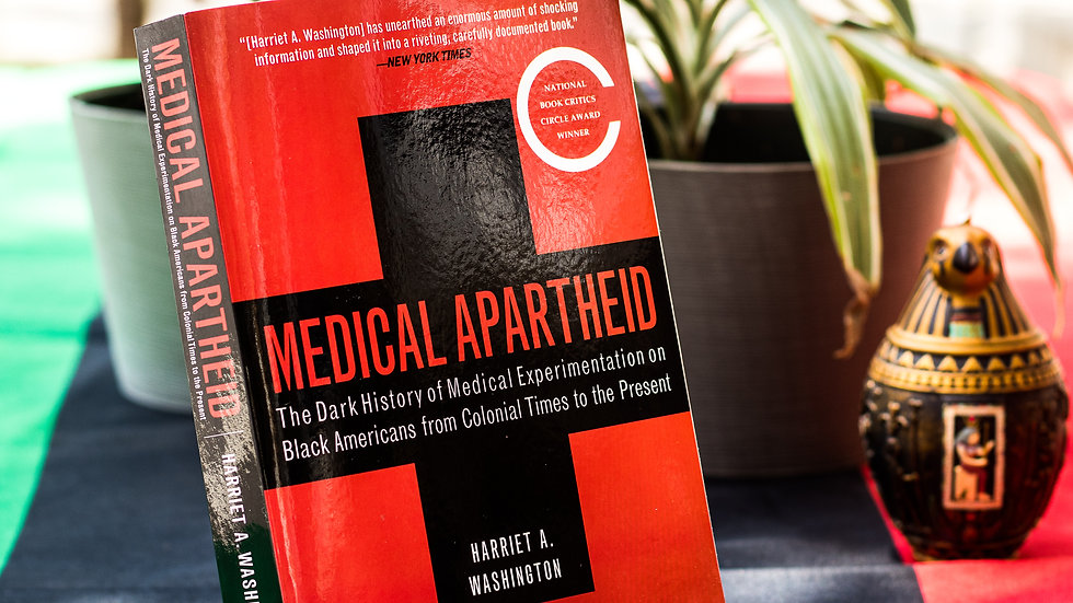 Medical Apartheid: The Dark History of Medical Experimentation on Black American