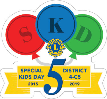 Lions Special Kids Day Pin