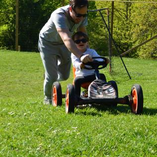 Karting à pédales