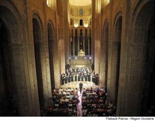 Concerts dans l'abbatiale de Conques