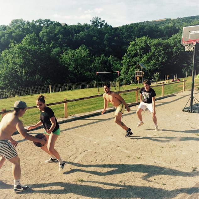 Partie de basket