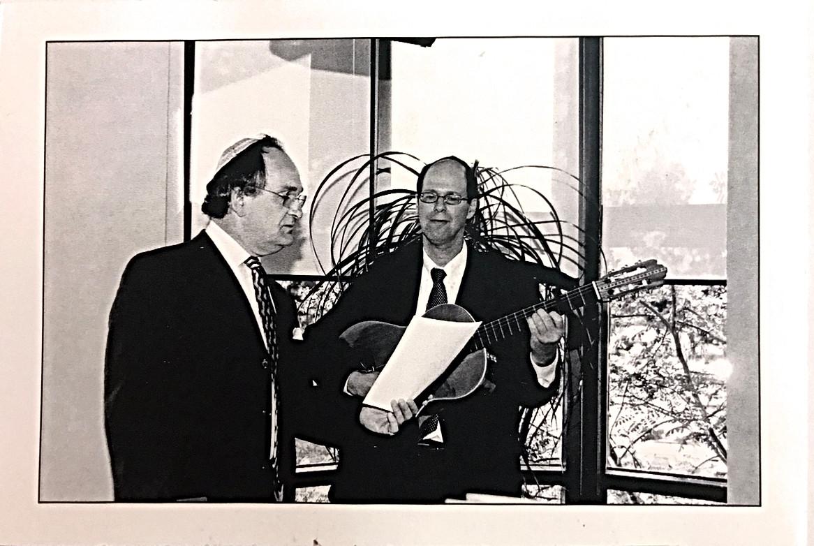 Cantor David and Ellie Rubenstein Officiating a Wedding