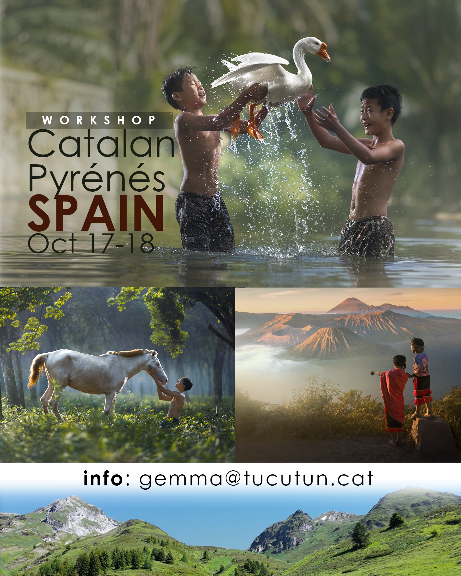 BARCELONA SPAIN: Catalan Pyrénés