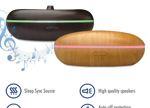 Essential Oil Diffuser Aromatherapy Ultrasonic Cool Mist Humidifier LED Speakers
