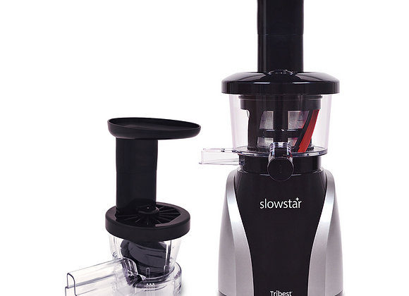 Slowstar Vertical Juicer & Mincer (Silver/Black) - Tribest