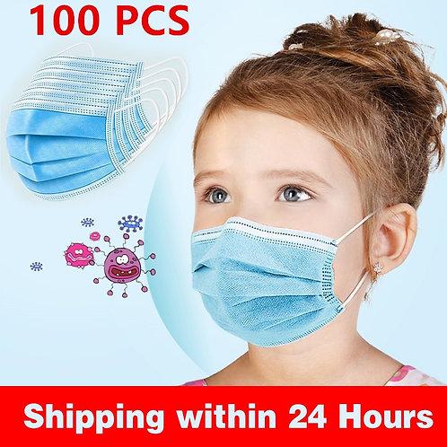 Children Face Mouth 1pcs/10pcs/20pcs/50pcs/100Pcs 3 Layer Mouth Soft Soft