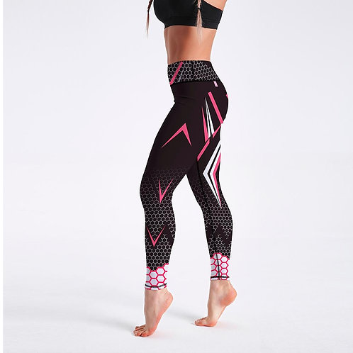 Workout Sporting Elastic Force Breathable Fitness Leggings