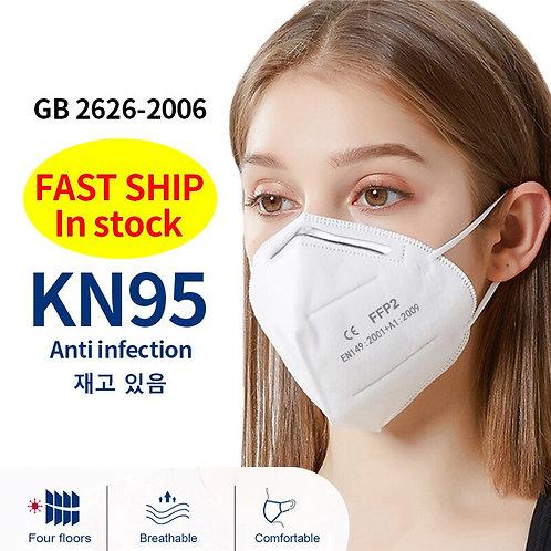 FFP2 KN95 Mascarillas Masque Face Masks Respirator Mouth Masks