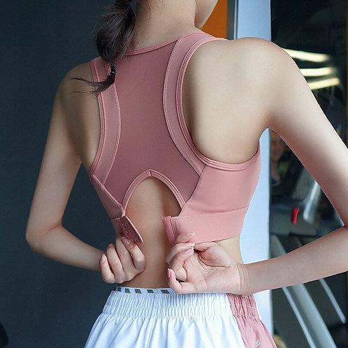 Sports Bra Women Adjustable Beauty Back Shockproof Gathering Sports Underwear