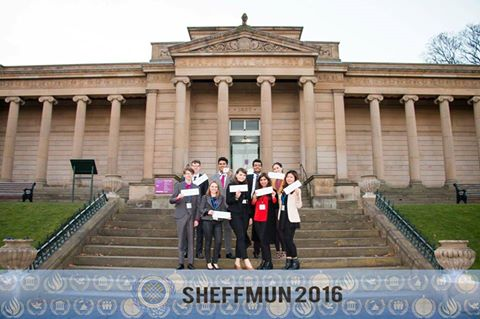 Cardiff delegation to SheffMUN 2016